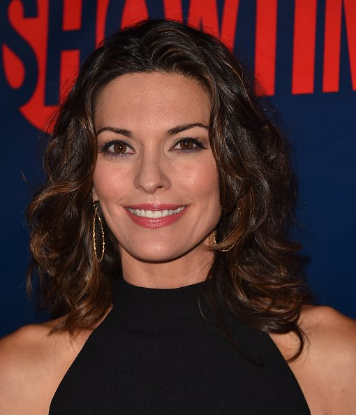 Alana De La Garza attends CBS' 2015 Summer TCA party at the Pacific Design Center on August 10, 2015, in West Hollywood, California. | Source: Getty Images.
