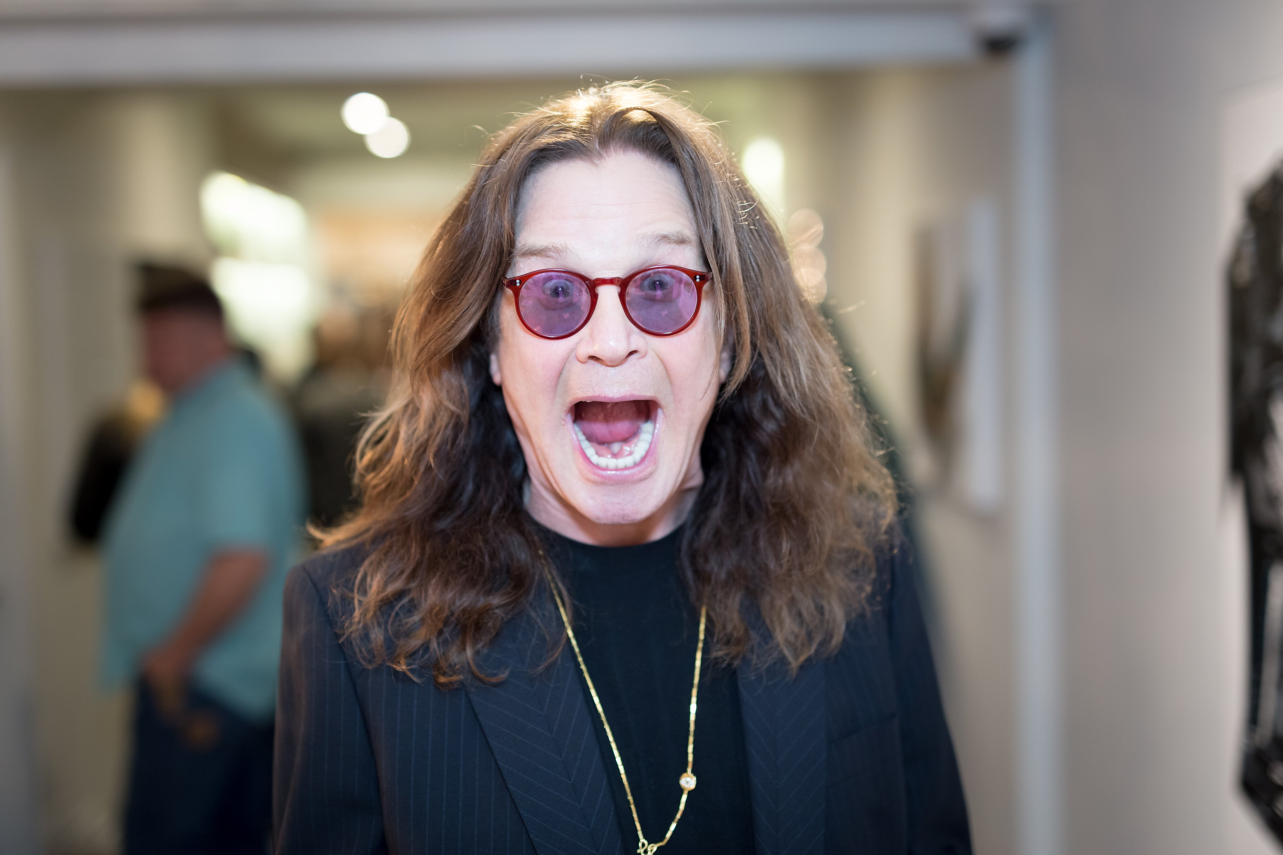 Ozzy Osbourne on September 28, 2017 in Los Angeles, California | Source: Getty Images