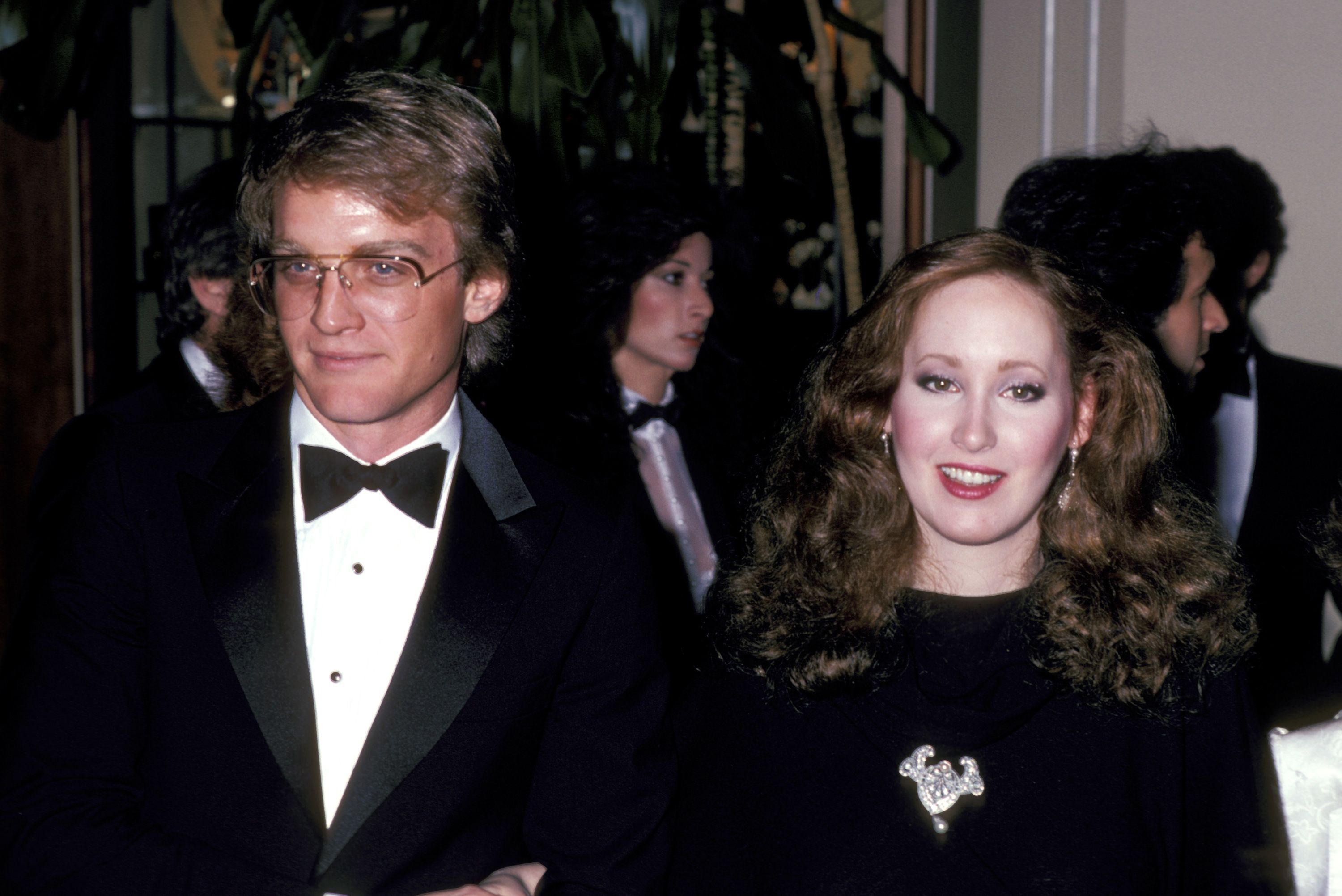 Terry Lester and Susan Newman at the 38th Annual Golden Globe Awards at Beverly Hilton Hotel in Beverly Hills, California, United States. | Source: Getty Images