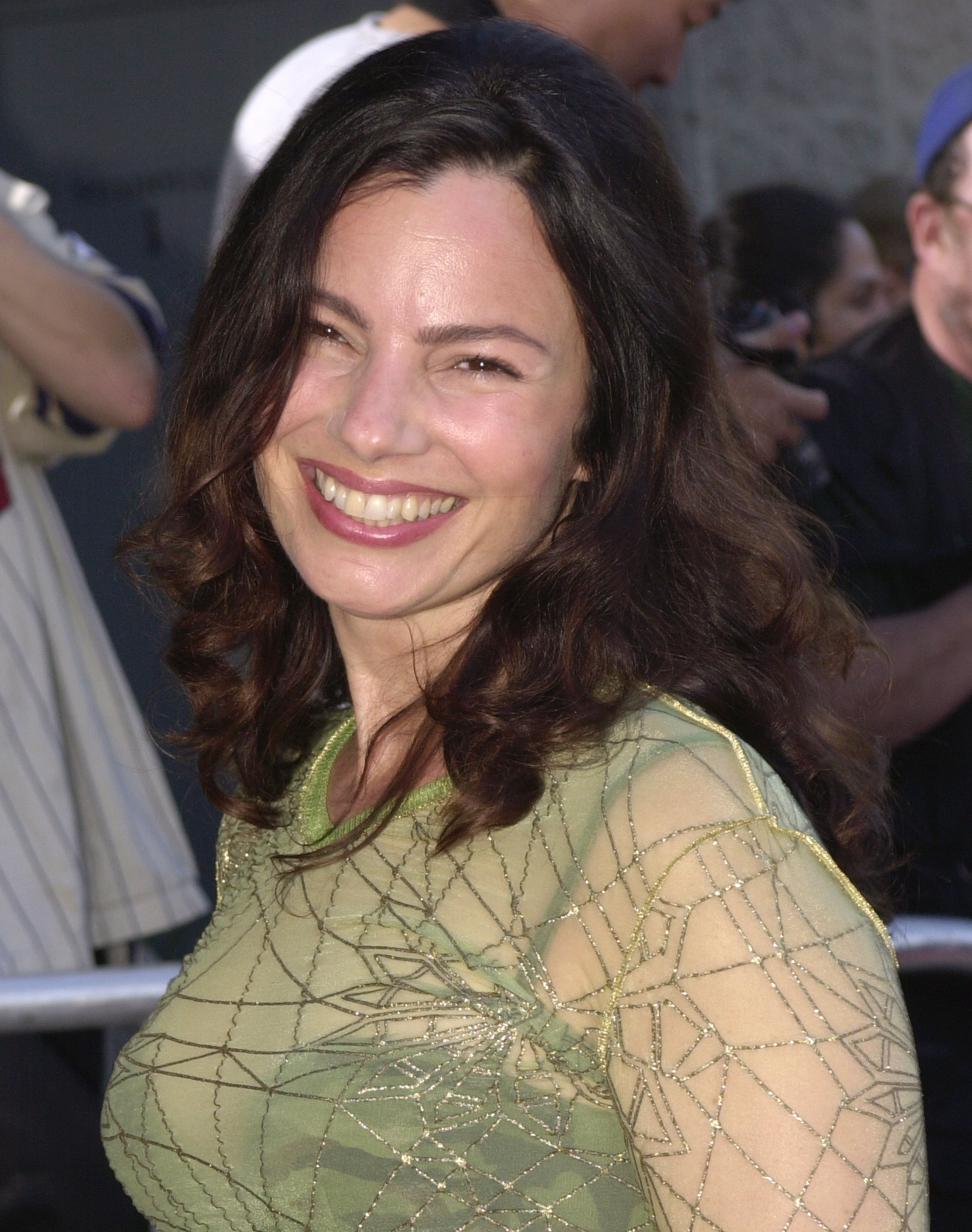 """Fran Drescher arrives at a special screening of """"A.I."""" June 28, 2001, in Beverly Hills, CA.   Source: Getty Images."""