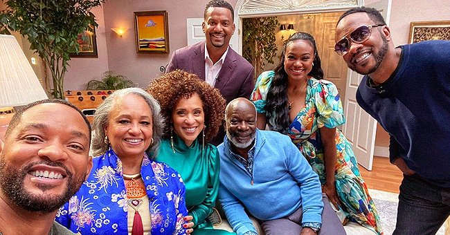 'The Fresh Prince of Bel-Air' Cast Reunites as They Celebrate the Show's 30th Anniversary