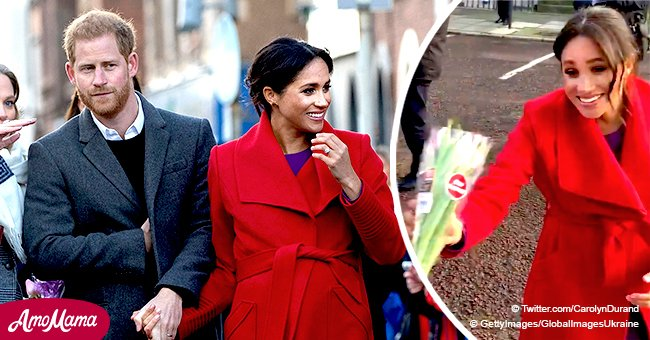 Meghan reportedly said baby's sex will be a 'surprise' and that Harry would be a 'fantastic' dad