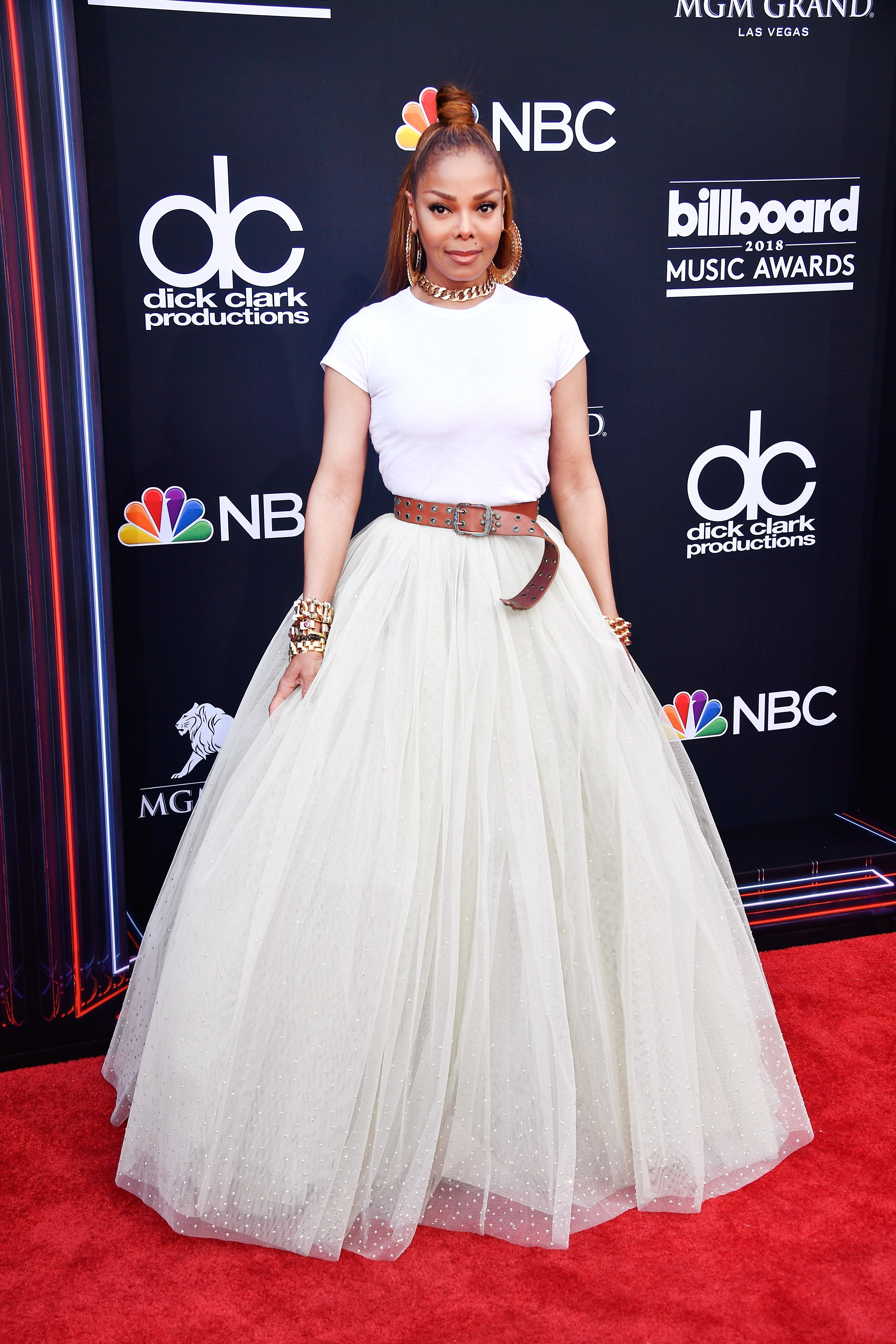 Janet Jackson attends the 2018 Billboard Music Awards at MGM Grand Garden Arena on May 20, 2018 | Photo: Getty Images