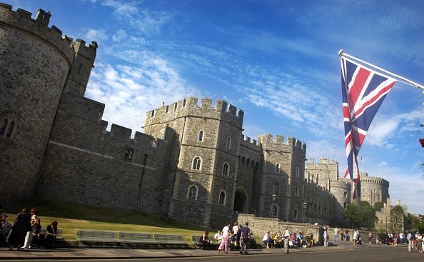 Windsor Castle in June 2003. | Source: Getty Images.