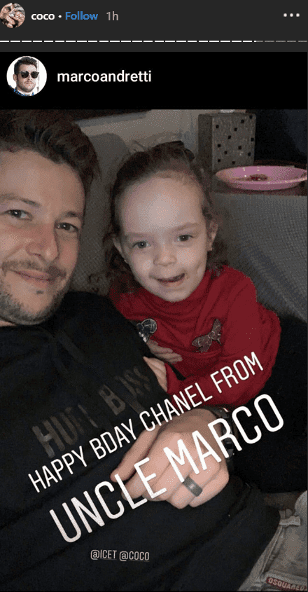 Chanel and her Uncle, Marco | Instagram/@coco
