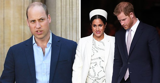 Us Weekly: Prince Harry Thinks People Try to Drive a Wedge between Him and Prince William