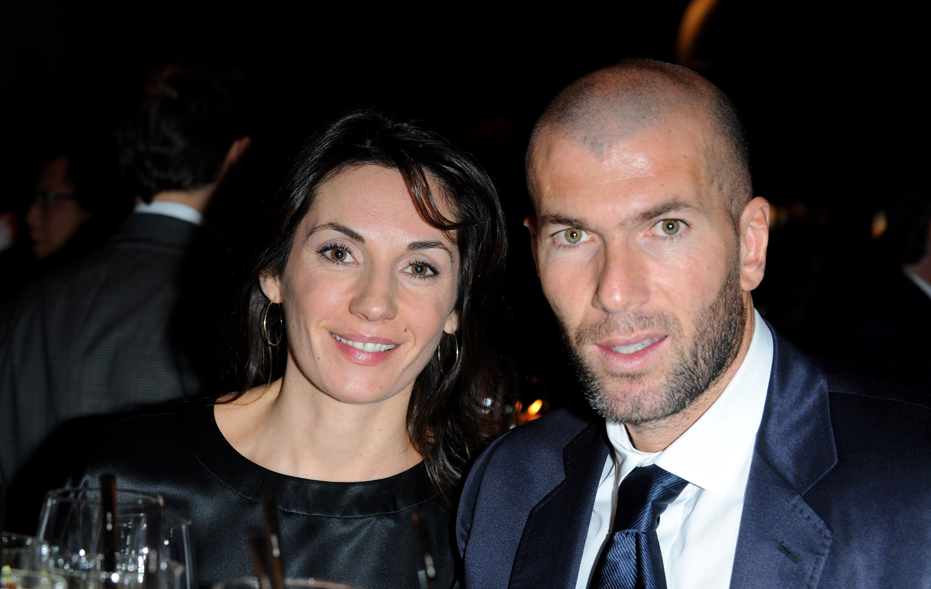 Véronique Zidane et Zinedine Zidane assistent à la fête de la CBI à Schaffhouse lors du Salon International de la Haute Horlogerie à Geneva Palexpo. | Photo : GettyImage