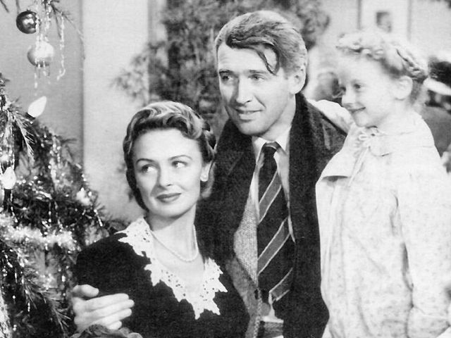 """Publicity photo of """"It's a Wonderful Life"""" in 1946. 