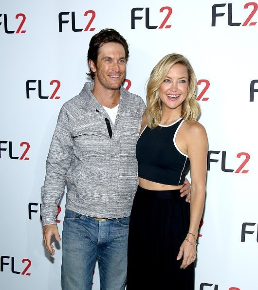 Oliver Hudson (L) and FABLETICS Co-Founder Kate Hudson attends FL2 Launch at Gramercy Terrace at The Gramercy Park Hotel on June 4, 2015 in New York City | Photo: Getty Images