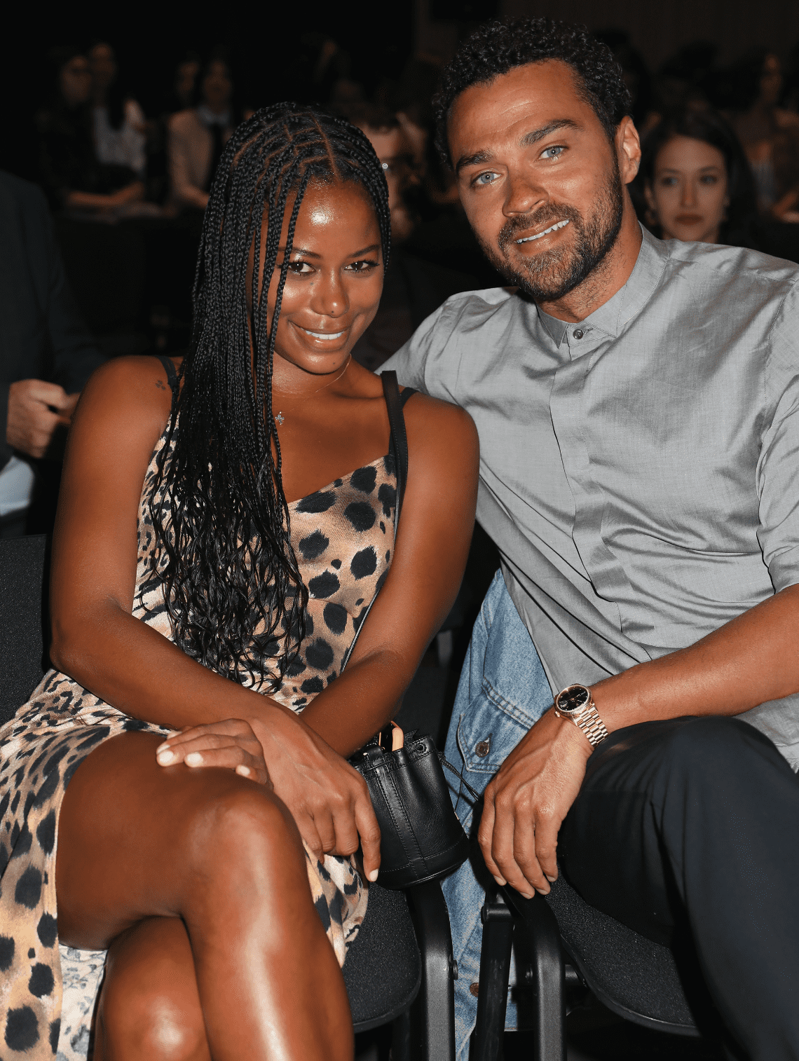 Taylour Paige and Jesse Williams attend the Filming Italy Sardegna Festival 2019 Day 2 at Forte Village Resort on June 14, 2019  | Photo: Getty Images