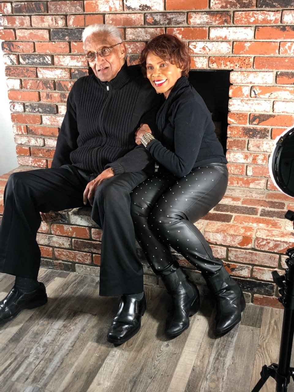 Gloria Hendry and her husband in a photo posted on Facebook   Photo: Facebook/gracehendry