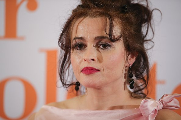 Helena Bonham Carter at the Eleanor & Colette premiere at Lichtburg on April 19, 2018 | Photo: Getty images