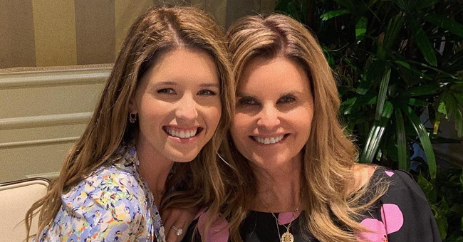 Katherine Schwarzenegger Shares a Photo Taken with Her Beautiful Mother Maria Shriver