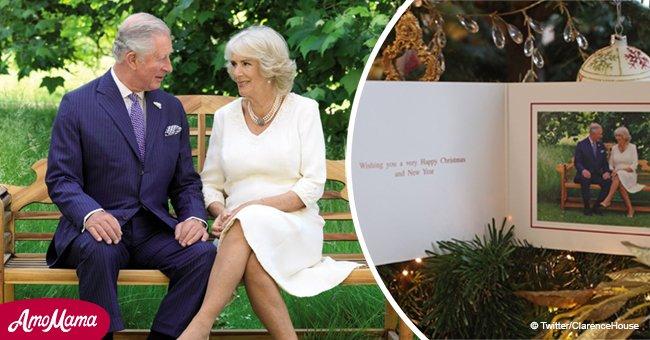 El príncipe Carlos y Camila revelan su soleada tarjeta de Navidad, y se ven muy enamorados