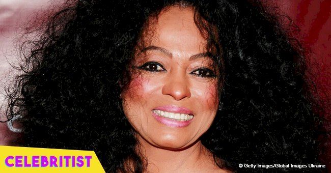 Diana Ross' daughter is her exact mini-me, sporting an afro hair & tight strapless outfit