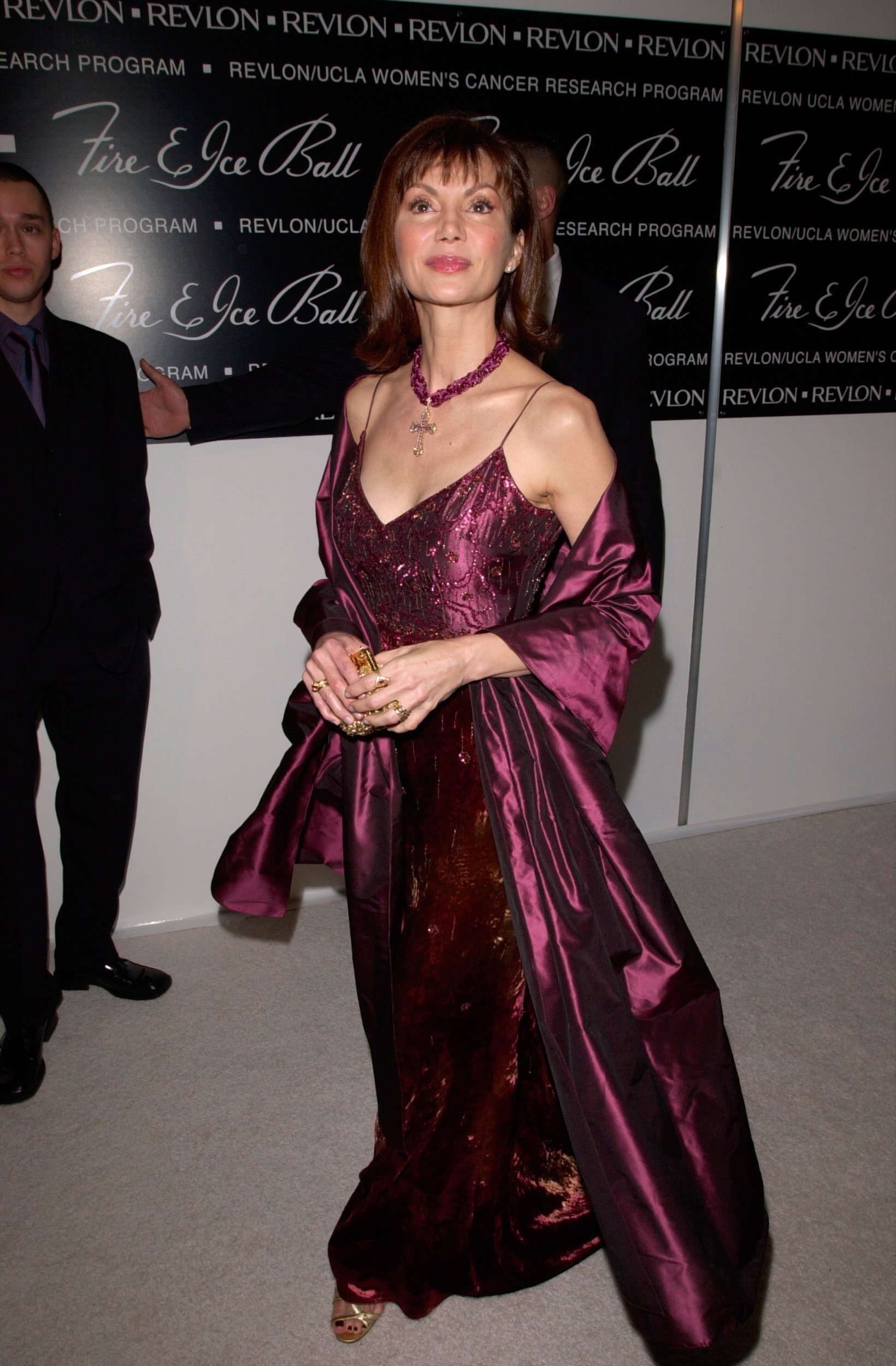 Victoria Principal at the 10th Annual Fire & Ice Ball in Beverly Hills. | Photo: Shutterstock