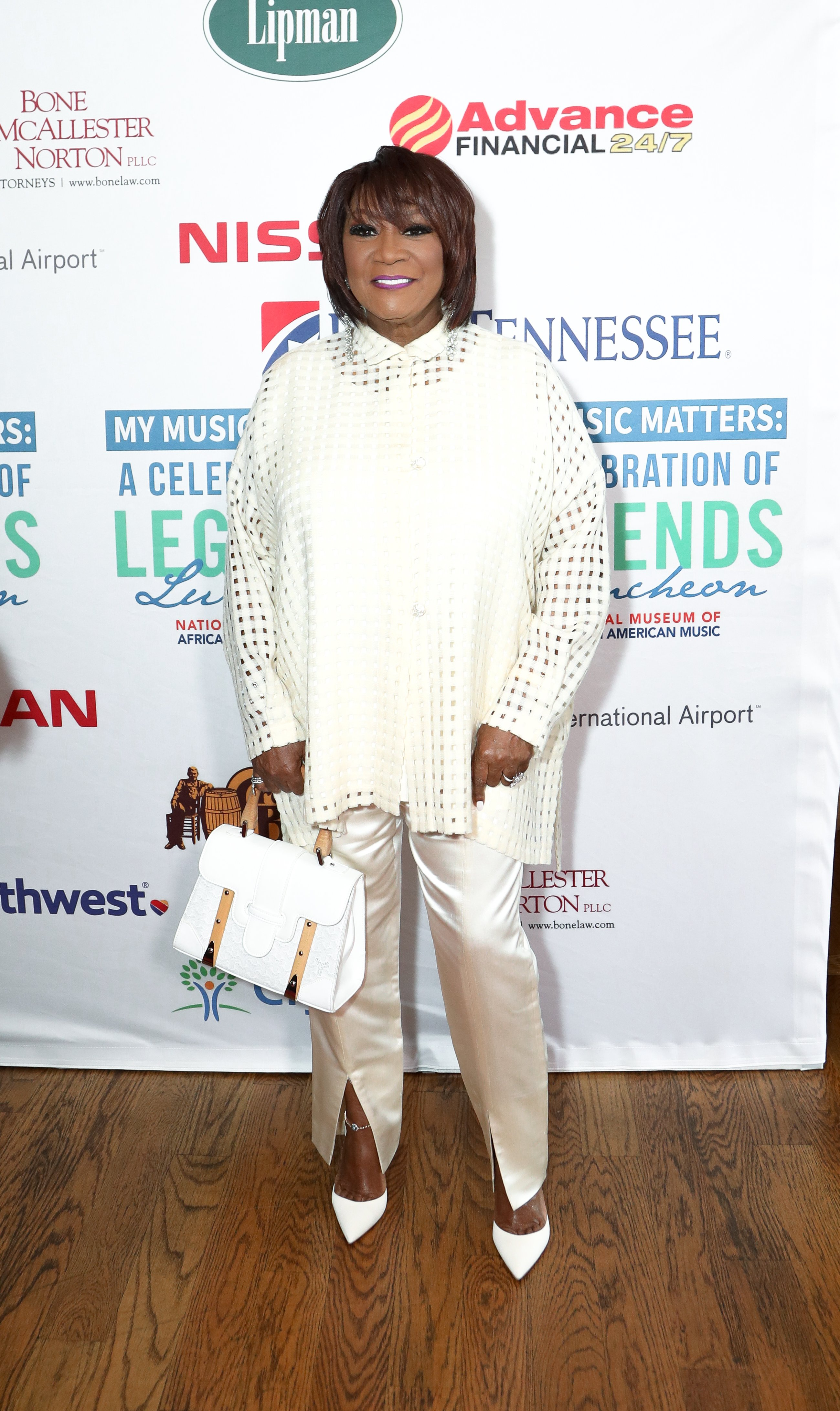 Patti LaBelle at the 4th Annual My Music Matters: A Celebration Of Legends Lunch at City Winery Nashville on June 1, 2017 in Nashville, Tennessee. | Source: Getty