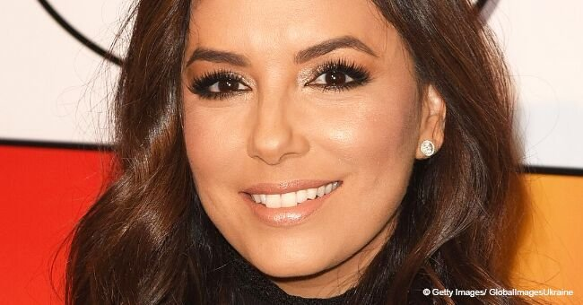 Eva Longoria officially introduces 6-week-old son to the world