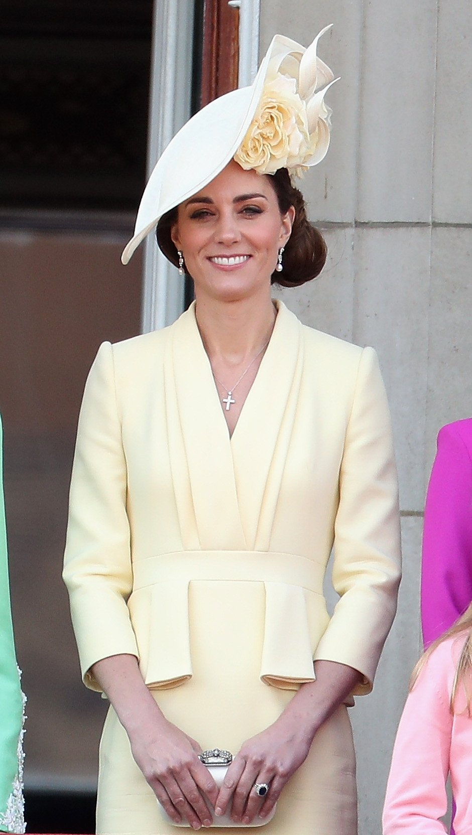 The Duchess of Cambridge, Kate Middleton, attends Trooping the Color in June 2019   Photo: Getty Images