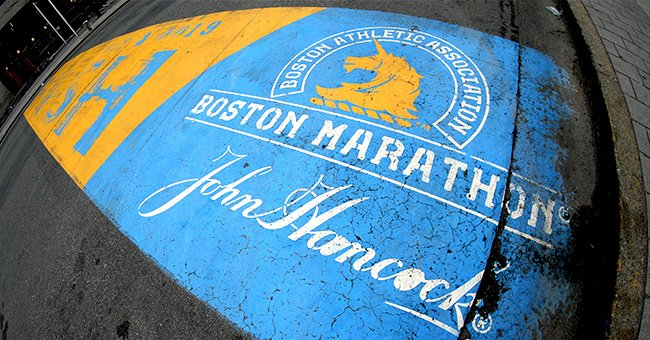 Boston Marathon finish line on April 20, 2020 | Photo: Getty Images