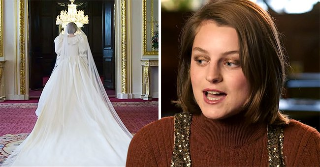 Vogue: 'The Crown' Star Emma Corrin Opens up about Wearing Princess Diana's Wedding Dress