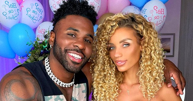 Jason Derulo & His Girlfriend Jena Frumes Announce Their Baby's Gender with a Festive Party