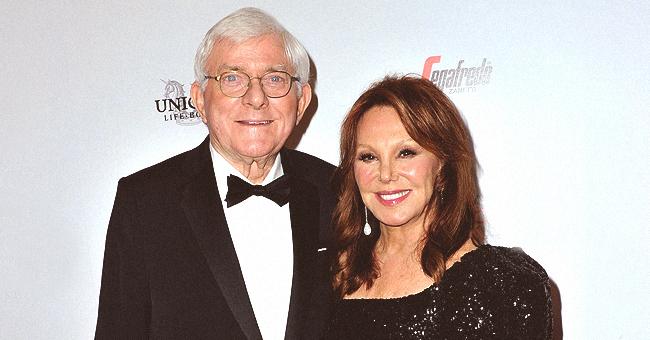 Marlo Thomas Poses for Rare Photo with Husband Phil Donahue at American Icon Awards