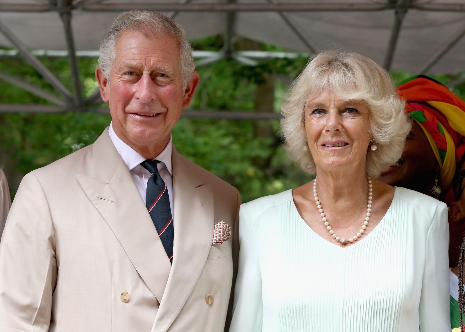 Camilla, Duchess of Cornwall and Prince Charles, Prince of Wales on a visit to the Museo del Oro Zenu on October 31, 2014 in Cartagena, Colombia | Photo: Getty Images