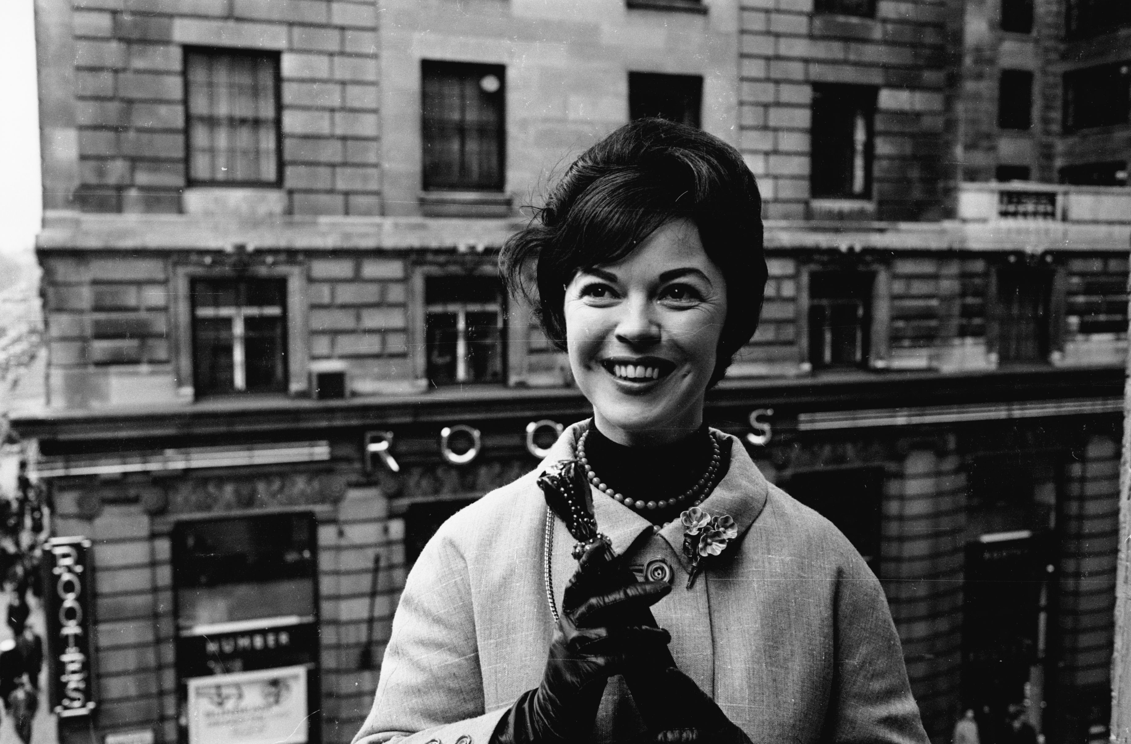 15th March 1965: Film star Shirley Temple Black on a visit to London. | Source: Getty Images