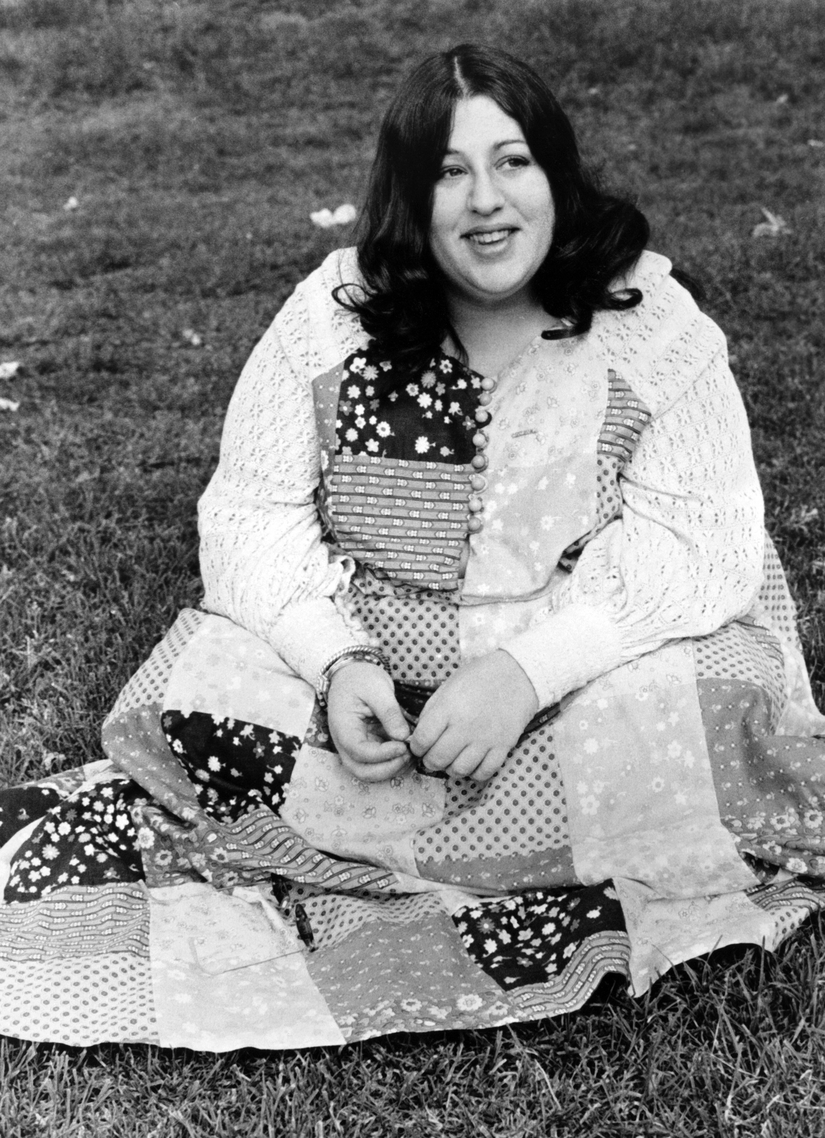 Mama Cass Elliot poses for a portrat for her solo career in 1968 in Los Angeles. | Photo by Michael Ochs Archives/Getty Images