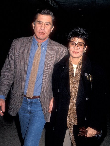 James Farentino and Tina Sinatra on December 11, 1989 at the Cineplex Odeon Century Plaza Cinemas in Century City, California.   Photo: Getty Images