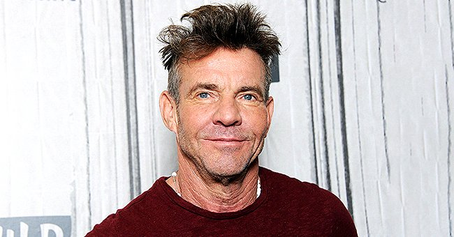 Dennis Quaid Poses with His and Ex-wife Kimberly's Twins in a Rare Photo