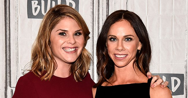 Jenna Bush Hager and Barbara Pierce Bush pictured at the the Build Series, 2017, New York City. | Photo: Getty Images