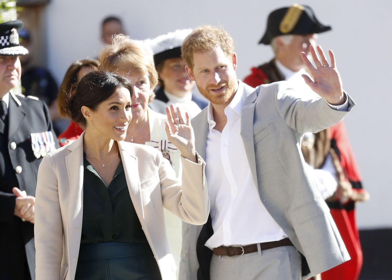 Meghan, Duchess of Sussex and Prince Harry, Duke of Sussex make an official visit to Sussex in Chichester, United Kingdom | Photo: Getty Images