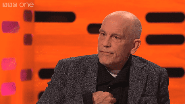 John Malkovich during an interview with Jonathan Ross in his show in 2020 | Photo: YouTube/The Jonathan Ross Show