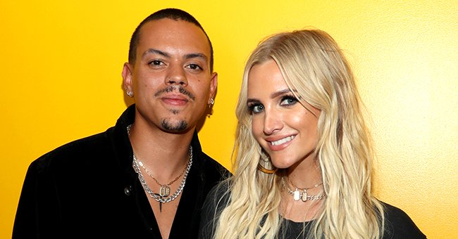 Evan Ross & Ashlee Simpson Celebrated Their 6th Anniversary with Photos from Their Wedding