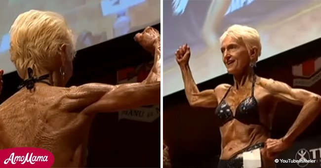 Bodybuilding grandmother proves that you're never too old to start something new