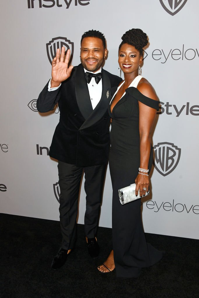nthony Anderson (L) and Alvina Stewart attend the 19th Annual Post-Golden Globes Party | Getty Images