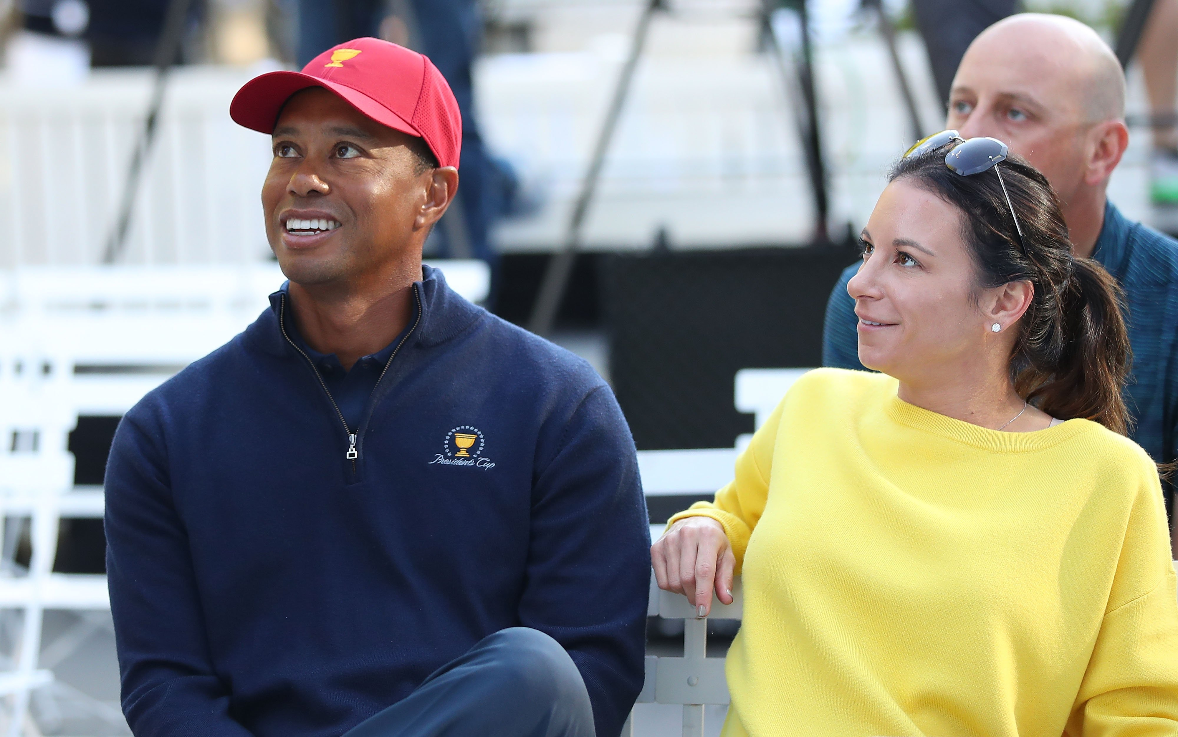 Tiger Woods and his girlfriend Erica Herman during the  Presidents Cup. December 5, 2018 in Melbourne, Australia. | Photo: GettyImages
