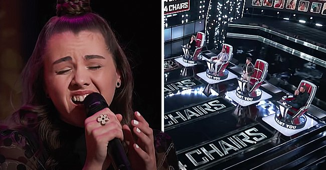 'The Voice' Contestant Anna Grace Gets 4-Chair Turn Performing Billie Eilish's 'My Future'