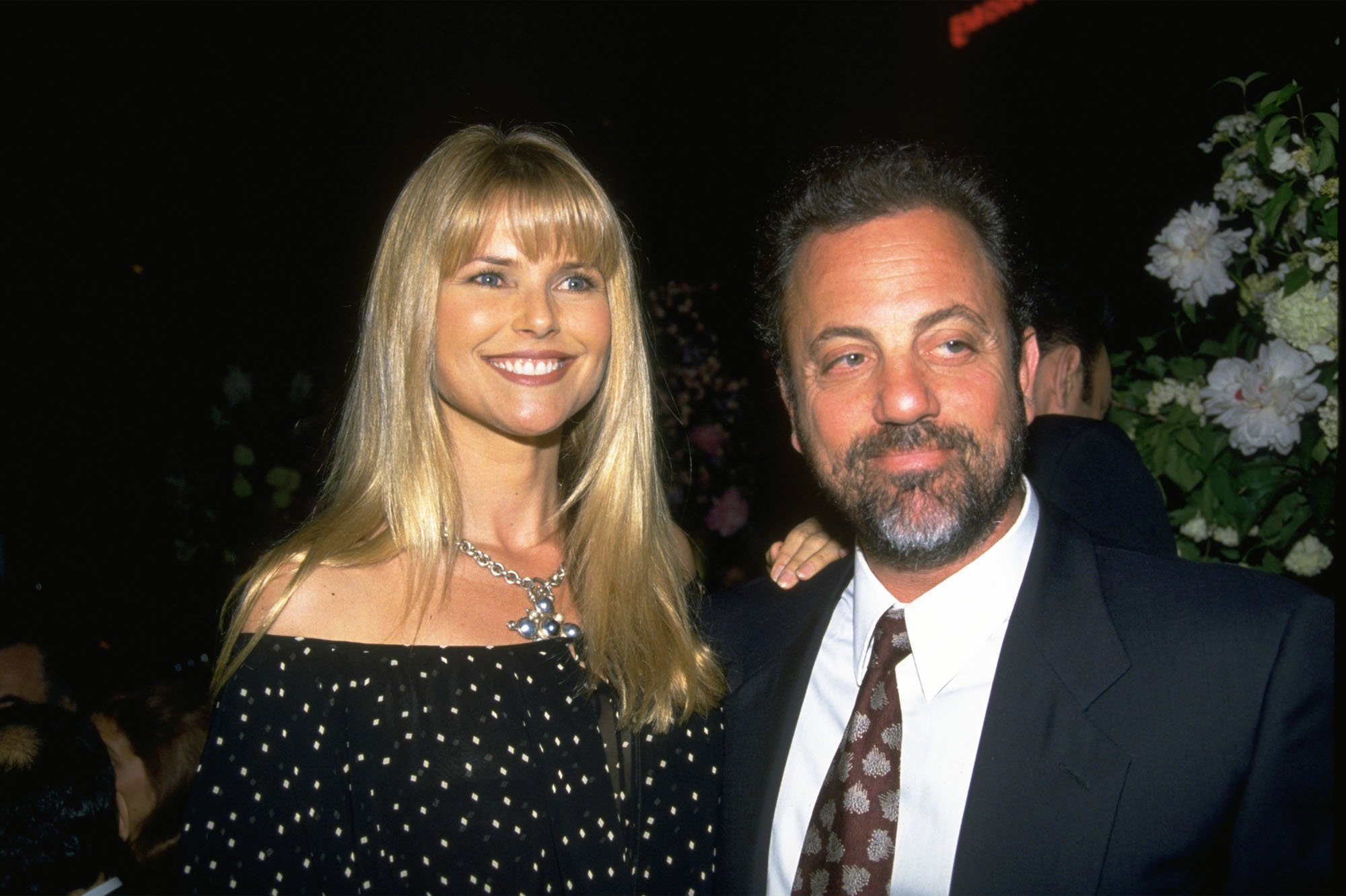Christie Brinkley and Billy Joel. I Image: Getty Images.