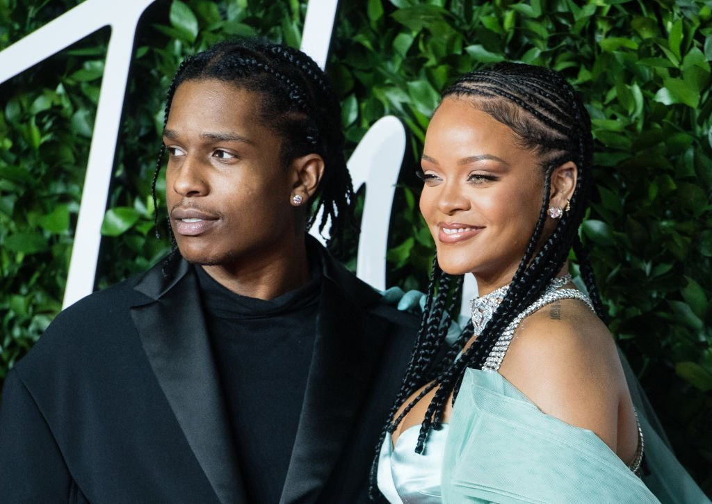 Rihanna and ASAP Rocky arrive at The Fashion Awards 2019 held at Royal Albert Hall | Photo: Getty Images
