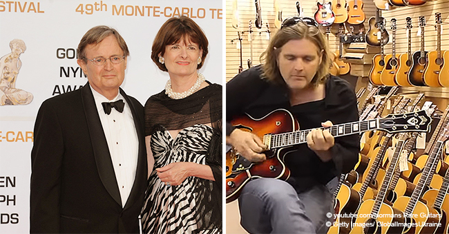 David McCallum's Handsome Son Val Is a Talented Musician