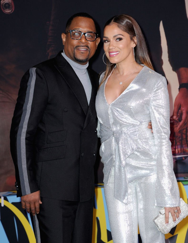 """Martin Lawrence and Roberta Moradfar at for the Premiere Of Columbia Pictures' """"Bad Boys For Life"""" held at TCL Chinese Theatre on January 14, 2020 
