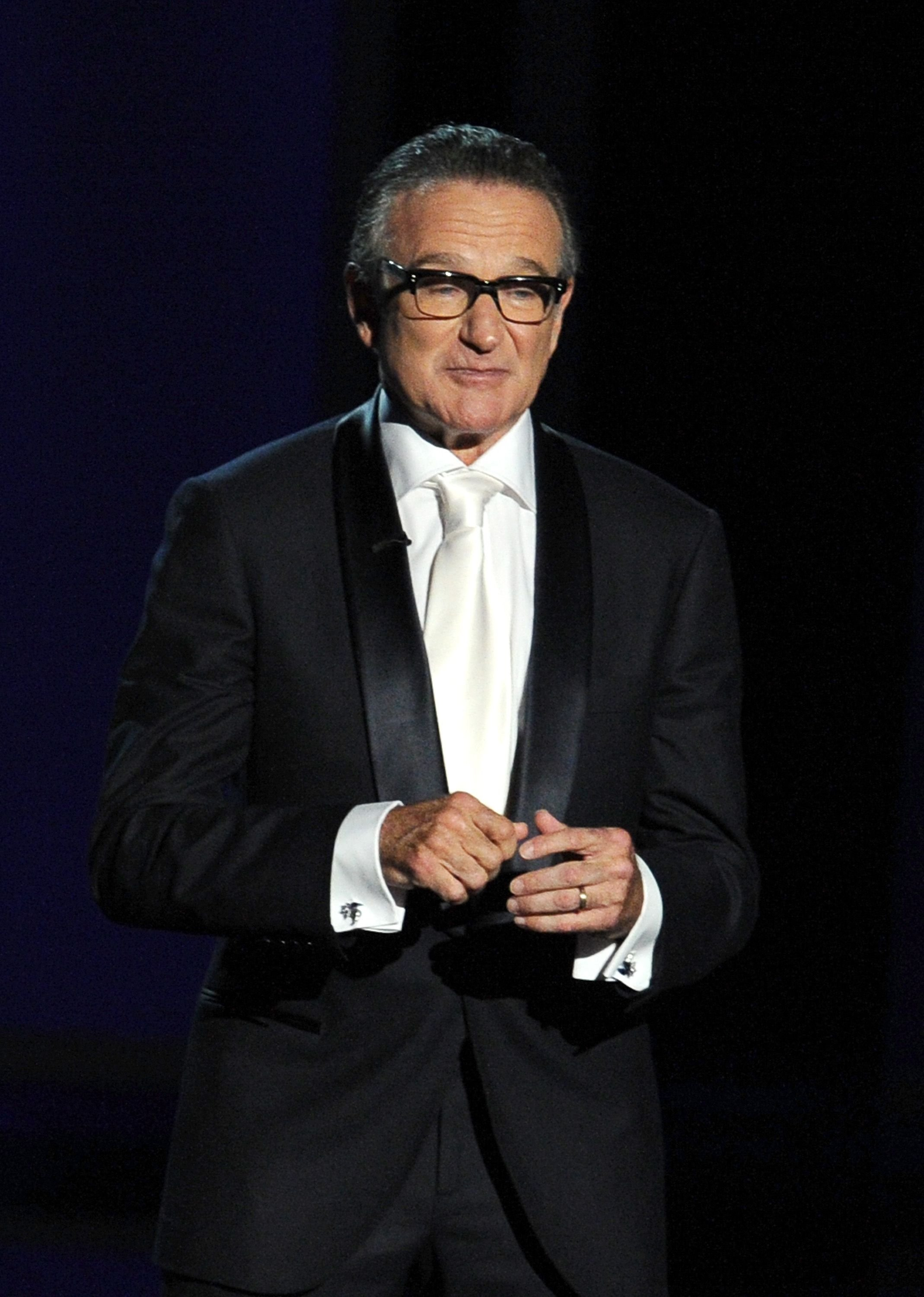 Late Actor Robin Williams spoke at the 65th Annual Primetime Emmy Awards held at Nokia Theatre L.A. Live on September 22, 2013 | Photo: Getty Images
