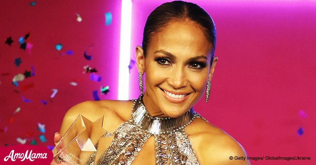 Jennifer Lopez, 48, flashes gorgeous cleavage after her boyfriend reveals how he met her