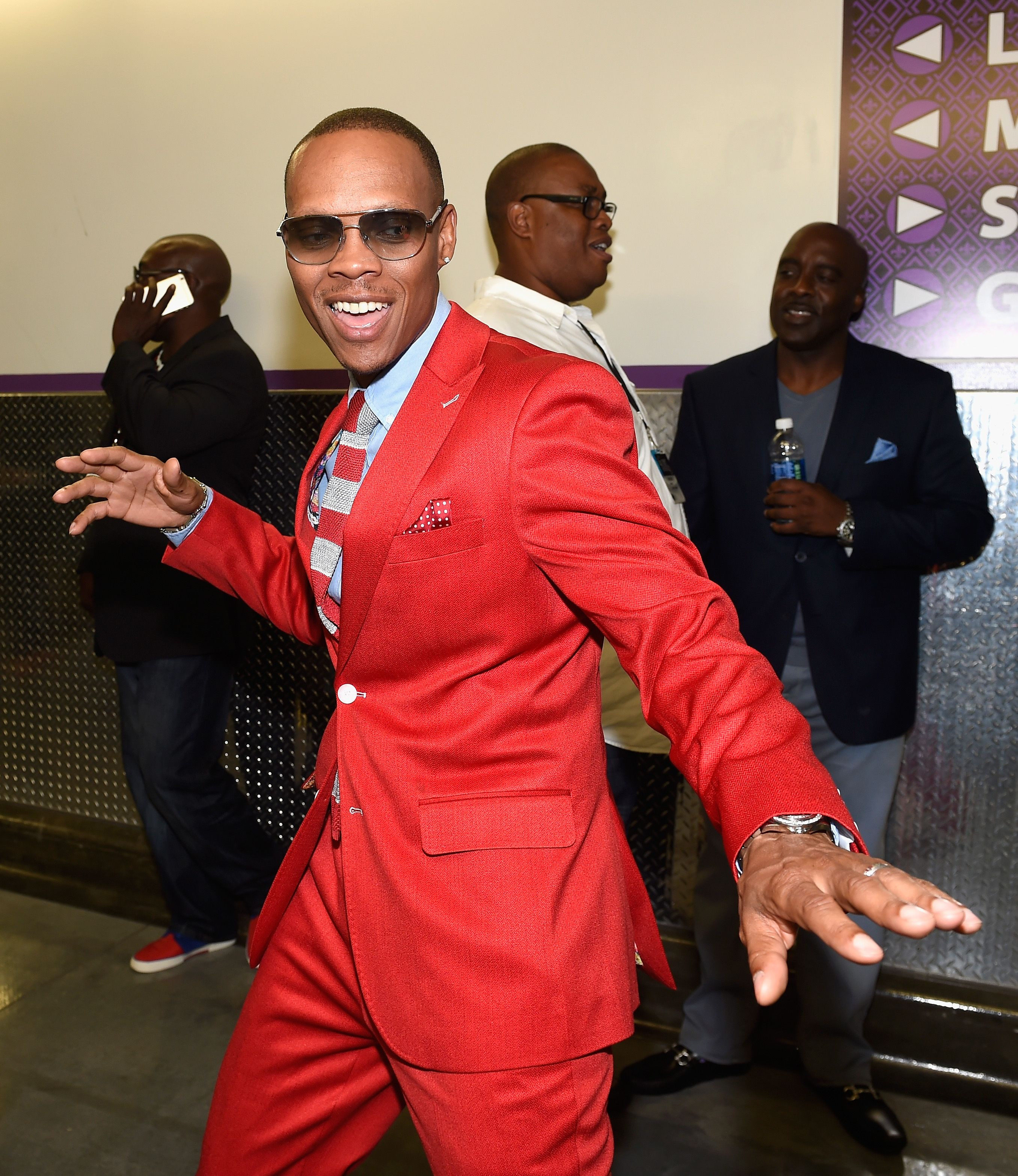 Ronnie DeVoe at the backstage during the 2016 Soul Train Music Awards on November 6, 2016 in Las Vegas, Nevada. | Source: Getty Images