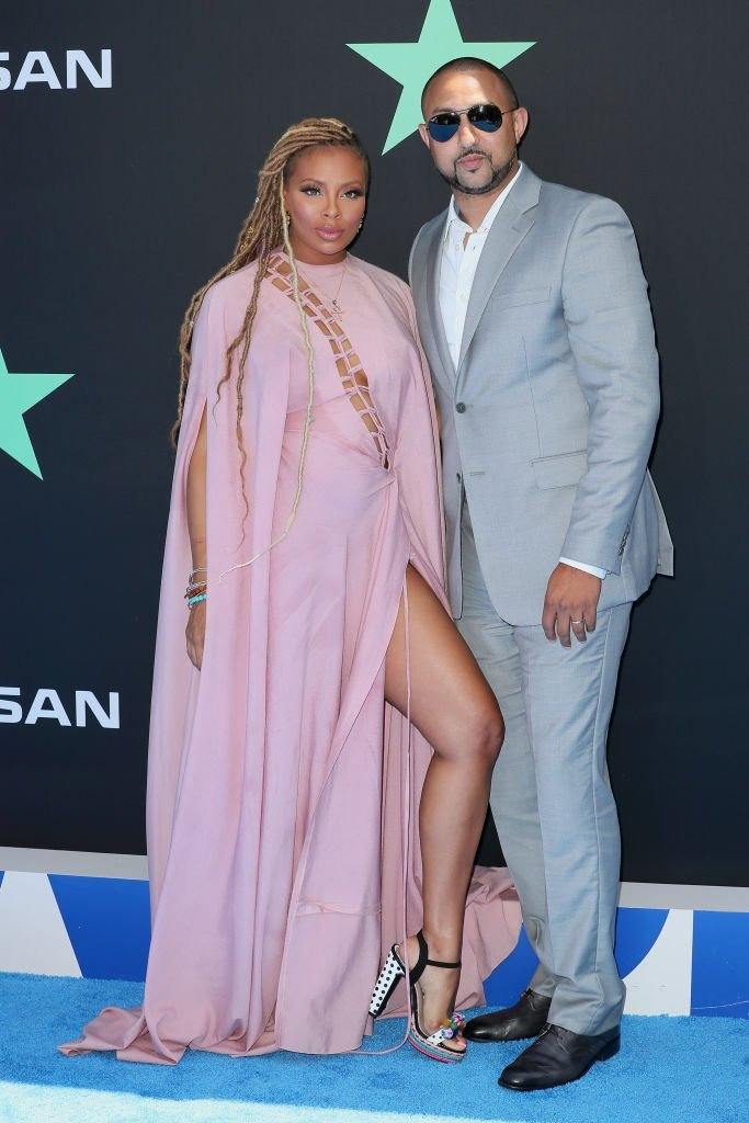 Eva Marcille (L) and Michael Sterling attend the 2019 BET Awards | Photo: Getty Images
