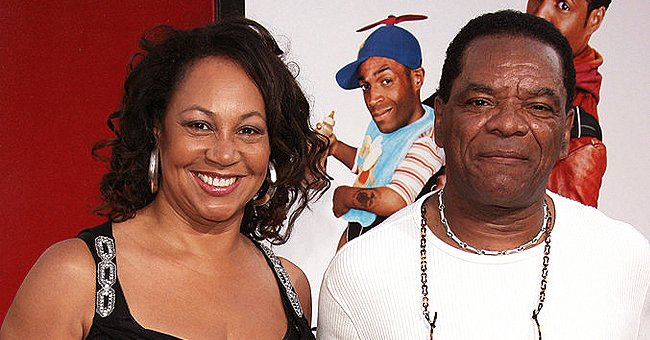John Witherspoon's Widow Angela Looks Gorgeous in Black & White Swimsuit Enjoying the Beach in Video