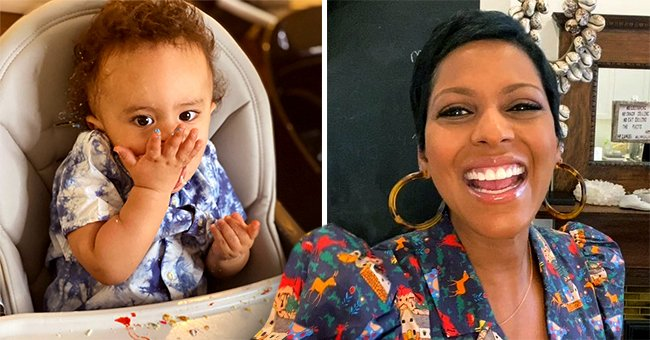 Tamron Hall's Baby Son Moses Enjoys Eating Strawberry in a Cute Video